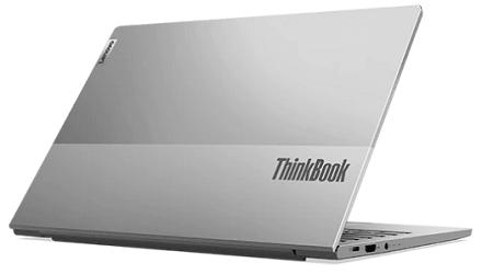Lenovo thinkbook 13s Gen 2の外観 後ろから