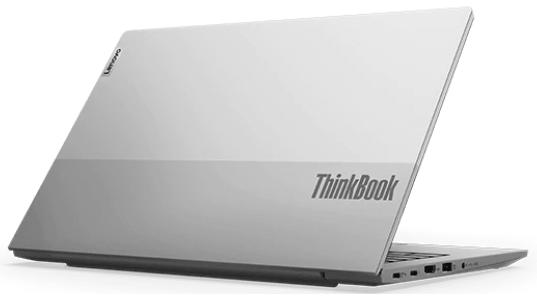 Lenovo thinkBook 14 Gen 2 AMDの外観 後ろから