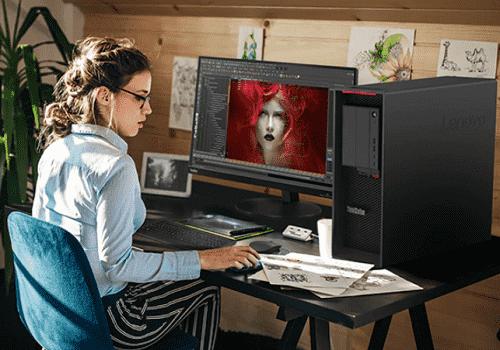 Lenovo thinkStation P620で画像編集