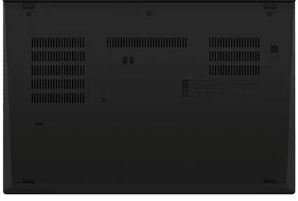 Lenovo thinkpad P14sの底面
