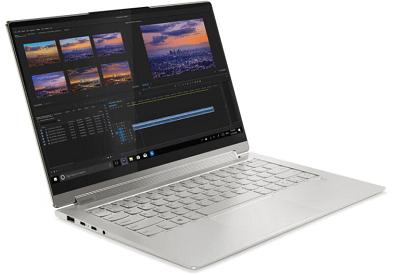 Lenovo yoga 950i(14)・画像編集をしているところ