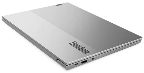 Lenovo thinkbook 13s Gen 2の外観 天板