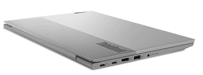 Lenovo thinkBook 14 Gen 2 AMDの外観 閉じた状態