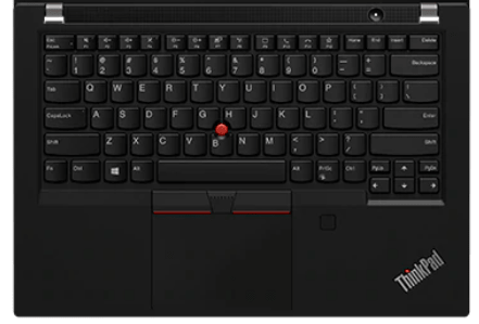 Lenovo thinkpad P14sのキーボード