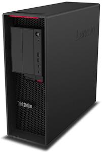Lenovo thinkStation P620筐体 右斜め前から