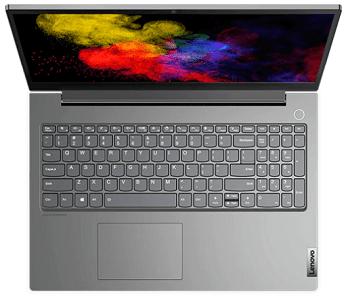 Lenovo ThinkBook 15pの外観 上から