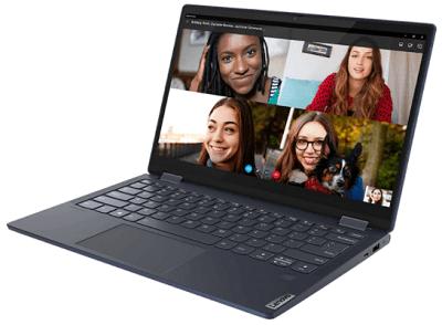 Lenovo Yoga 650・ビデオ電話をしているところ