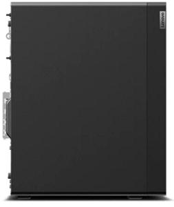 Lenovo ThinkStation P340 Towerの筐体・左側面