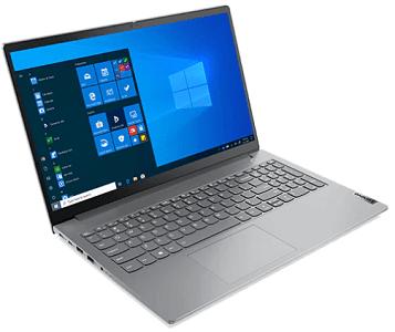 Lenovo ThinkBook 15 Gen 2 AMD 左前から