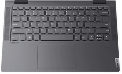 Lenovo Yoga 750i 14型のキーボード