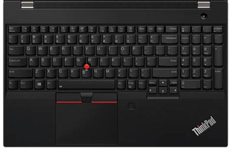 Lenovo thinkpad P15sのキーボード