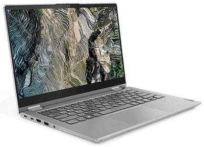 Lenovo ThinkBook 14s Yogaのディスプレイ