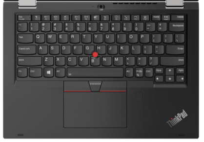 Lenovo ThinkPad L13 Yoga Gen 2のキーボード