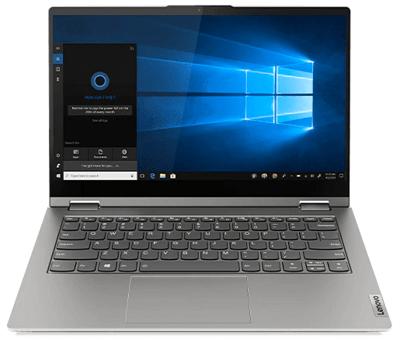 Lenovo ThinkBook 14s Yogaの外観 正面から