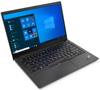Lenovo ThinkPad E14 Gen 2 インテルの外観 左斜め前から