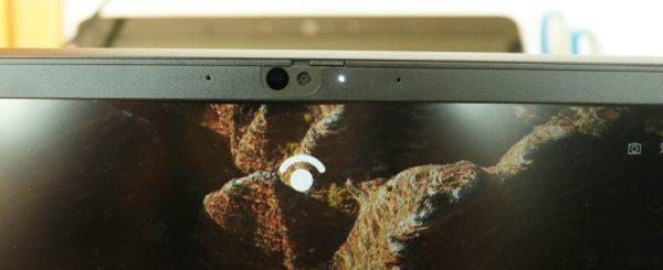 Lenovo ThinkPad E15 gen 2の顔認証カメラ