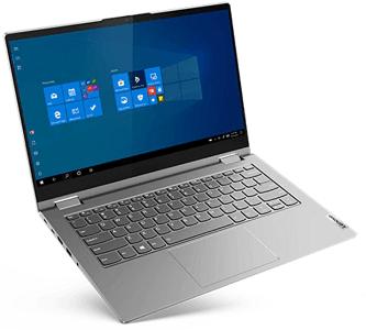 Lenovo ThinkBook 14s Yogaの外観 正面