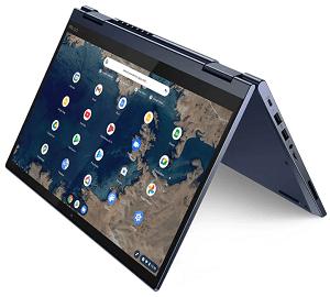 Lenovo ThinkPad C13 Yoga Chromebook テントモード
