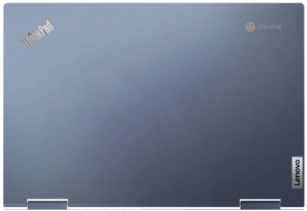 Lenovo ThinkPad C13 Yoga Chromebookの天板