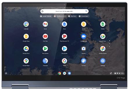Lenovo ThinkPad C13 Yoga Chromebookのディスプレイ