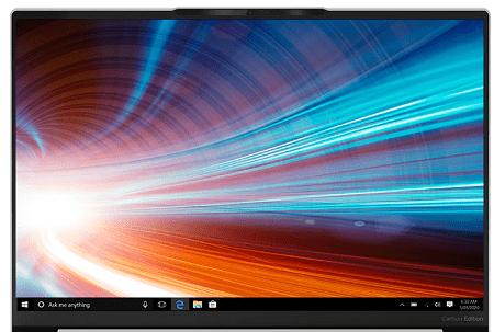 Lenovo Yoga Slim 750i Carbonのディスプレイ