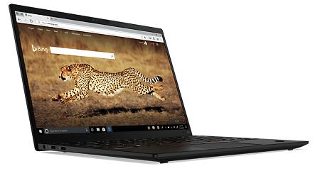 Lenovo ThinkPad X1 Nanoの外観 左斜め前から