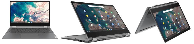 Chromebook タブレットPCの特徴 デスクトップモード、テントモード、スタンドモード、タブレットモード