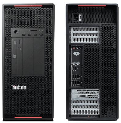 Lenovo ThinkStation P920 インターフェイス