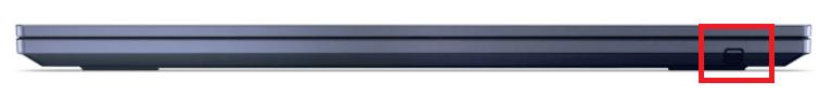 Lenovo ThinkPad C13 Yoga Chromebook 付属のペンはパソコンに収納可能
