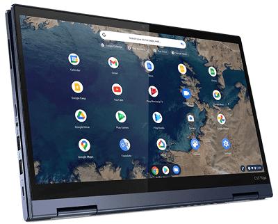 Lenovo ThinkPad C13 Yoga Chromebook タブレットモード
