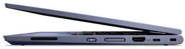 Lenovo ThinkPad C13 Yoga Chromebookの外観 左側面
