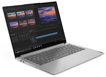 Lenovo Yoga Slim 750i Pro 左斜め前から