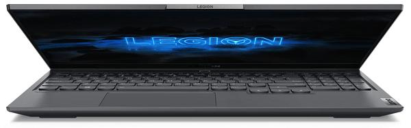 Lenovo Legion Slim 750i 半分閉じた状態 正面