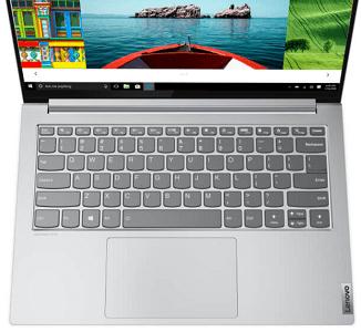 Lenovo Yoga Slim 750i Proの外観 上から
