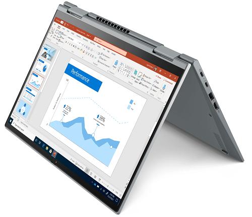 Lenovo ThinkPad X1 Yoga Gen 6 テントモード