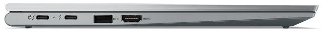 Lenovo ThinkPad X1 Yoga Gen 6 左側面インターフェイス