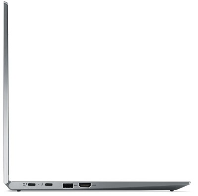 Lenovo ThinkPad X1 Yoga Gen 6 開いた状態の側面