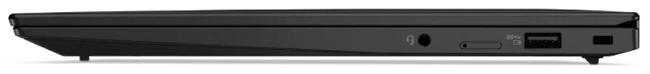 Lenovo ThinkPad X1 Carbon Gen 9の右側面インターフェイス