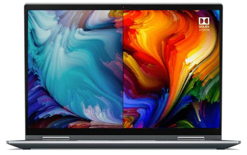Lenovo ThinkPad X1 Yoga Gen 6のディスプレイ