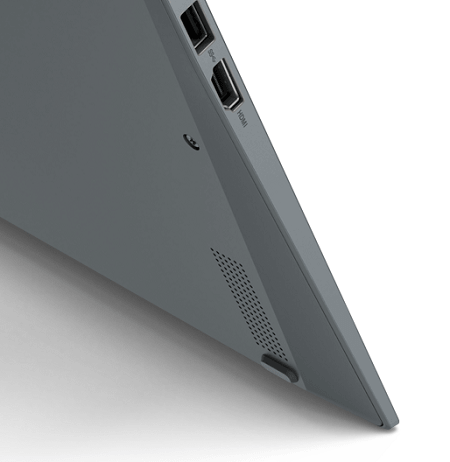 Lenovo ThinkPad X1 Yoga Gen 6 底面にあるウーファー