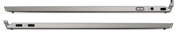 Lenovo ThinkPad Titaniumのインターフェイス