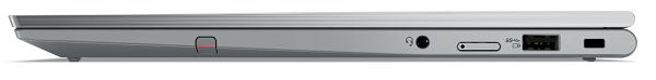 Lenovo ThinkPad X1 Yoga Gen 6 閉じた状態の右側面