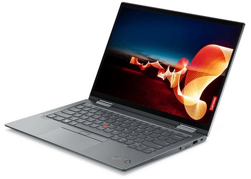 Lenovo ThinkPad X1 Yoga Gen 6 右斜め前から