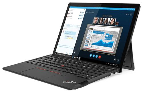 Lenovo ThinkPad X12 Detachableと付属のデジタルペン