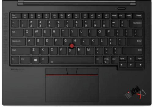 Lenovo ThinkPad X1 Carbon Gen 9のキーボード