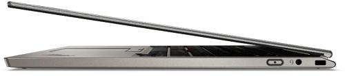 Lenovo ThinkPad Titanium 右側面から