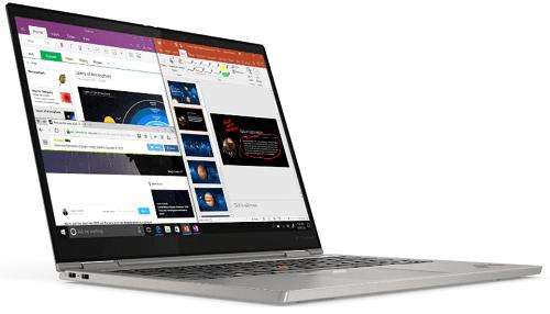 Lenovo ThinkPad Titanium 左斜め前から