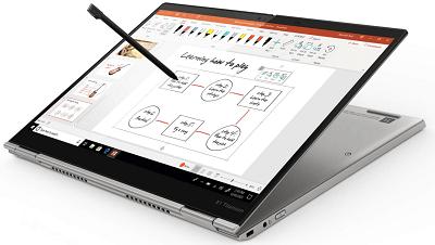 Lenovo ThinkPad Titanium タブレットモード