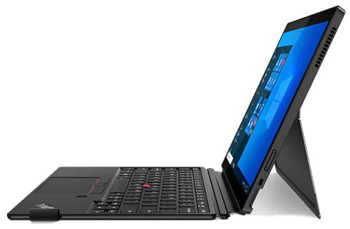 Lenovo ThinkPad X12 Detachableの右側面