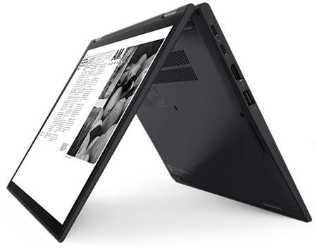 Lenovo ThinkPad X13 Yoga Gen 2の底面